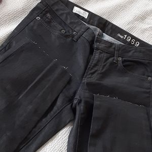 Waxed jeans
